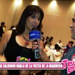 Fátima Saldonid felicita a Trujillo por fiesta de La Marinera
