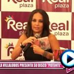"""Erika Villalobos presenta su disco """"potente"""""""