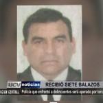 Policía herido en enfrentamiento con delincuentes es abandonado por su institución