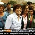 Villarán inaugura obras en Chosica y Villa Jardín