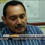 Consejero Haro pide salida de Ricardo Lazo