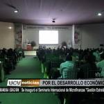 """Se inauguró el Seminario Internacional de Microfinanzas """"Gestión Estratégica"""""""