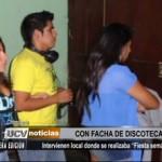 "Chimbote: Intervienen local donde se realizaba ""Fiesta Semáforo"""