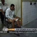Iquitos: Delincuentes disparan en la pierna a su víctima por oponer resistencia