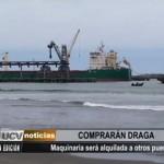 Comprarán draga para mitigar problema de erosión costera