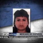 Sicario asesinó a comerciante embarazada en La Hermelinda