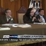"""Gloria Montenegro: """"Sólo alcalde puede retirar confianza a funcionarios"""""""