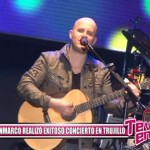 Gian Marco realizó exitoso concierto en Trujillo