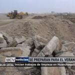 Inician trabajos de limpieza en Huanchaquito