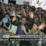 Gerencia de Desarrollo Social realizó primer festival juvenil
