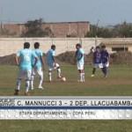 Carlos A. Mannucci derrotó a Deportivo Llacuabamba por 3-2