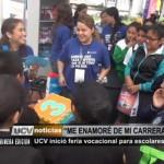 Universidad César Vallejo inició feria vocacional para escolares