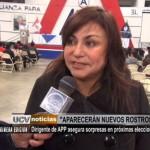 Dirigente de APP asegura sorpresas en próximas elecciones