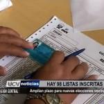 Amplian plazo para nuevas elecciones vecinales