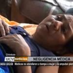 Chimbote: Médicos no atendieron a tiempo a mujer y le amputan pierna