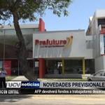 AFP devolverá fondos a trabajadores desocupados