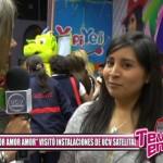 """Amor Amor Amor"" visitó instalaciones de UCV Satelital"