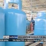 Con vale digital FISE beneficiarios obtendrán descuento de 16 soles por balón de gas