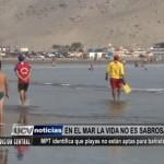 Municipalidad de Trujillo identifica las playas no aptas para bañistas