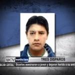 Sicarios asesinaron a joven y dejaron herido a su amigo