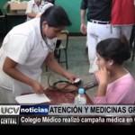 Colegio Médico realizó campaña médica en Chepén