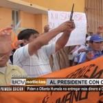 Chimbote: Piden a Ollanta Humala no entregar más dinero a Gobierno Regional de Ancash
