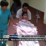 Menor necesita apoyo para recibir tratamiento en Lima