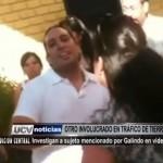 Investigan a sujeto mencionado por Galindo en videos