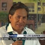 Según encuestas Toledo y Urtecho son personajes negativos