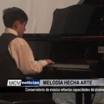 Conservatorio de música refuerza capacidades de alumnos