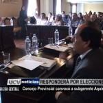 Concejo Provincial convocó a subgerente Aquino