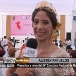 Presentan a reina del 54° Concurso Nacional de Marinera