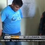 Piura: Sujetos en motocicleta roban a microempresario 12 mil soles