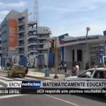 Universidad César Vallejo responde ante pésimos resultados educativos del país