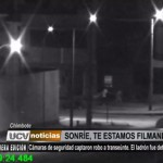 Chimbote: Cámaras de seguridad captaron robo a transeúnte