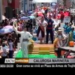 Gran Corso de Marinera se vivió en Plaza Mayor de Trujillo