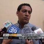 """Gerente provincial: """"Ayudar no es ilegal"""""""