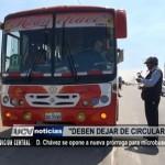Dante Chávez se opone a nueva prórroga para microbuses