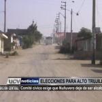 Comité cívico exige que Nuñuvero deje de ser alcalde
