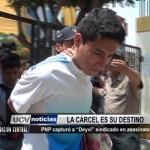 "Policía capturó a ""Deyvi"" sindicado en asesinatos"