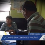 Informe de Contacto: ¿Coimas en colegio de Paiján?