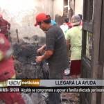 Alcalde de El Milagro ayudará a familia afectada por incendio