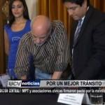 Municipalidad de Trujillo y asociaciones cívicas firmaron Pacto por la Movilidad