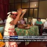 Inician actividades en honor a San Isidro Labrador