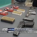 MININTER controlará uso de armas y expulsará a corruptos