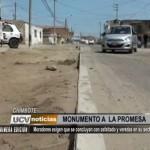 Chimbote: Moradores exigen que se concluya asfaltado en su sector