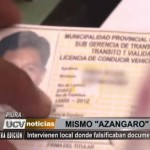Piura: Intervienen local donde falsificaban documentos