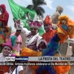 Artistas trujillanos celebraron el Día Mundial del Teatro