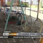 Chimbote: Construcción de jardín sigue inconclusa