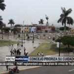 Patrimonio Monumental de Trujillo reglamentará uso de la Plaza de Armas